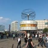 Alexanderplatz - zegar czasu światowego - Berlin
