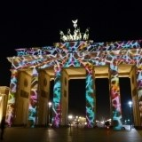 Festiwal świateł na Bramie Brandenburskiej