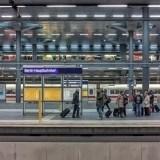 Dworzec kolejowy Hauptbahnhof - Berlin