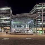 Hauptbahnhof Berlin - dworzec kolejowy