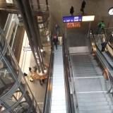 Schody ruchome - Hauptbahnhof Berlin