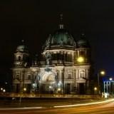 Katedra w Berlinie nocą