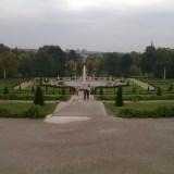 Widok na park Sanssouci w Poczdamie