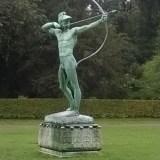 Rzeźba w parku Sanssouci