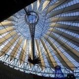 Dach Sony Center w Berlinie