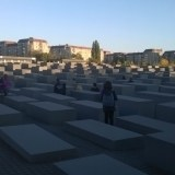 Pomnik w Berlinie - Memorial to the Murdered Jews of Europe