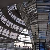 Wnętrze kopuły w Berlinie