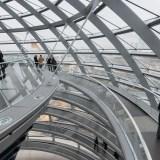 Wnętrze kopuły - Reichstag