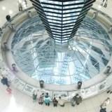 Wnętrze kopuły - Reichstag – siedziba Bundestagu